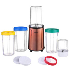 17 Piece Stainless Steel Smoothie Maker & Blender Set