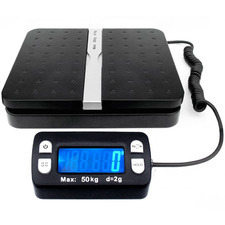 Black 30kg Digital Postage Scales