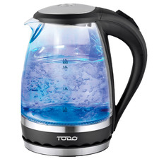 1.5L Cordless Glass Kettle