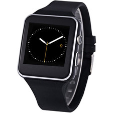 Black Xavier G Sensor Smart Watch