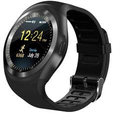 Black Leonne Silicon Smart Watch