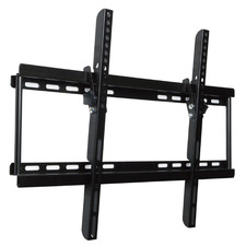 Black Double Arm Wall Mount TV Bracket