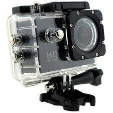 Black Waterproof HD Action Camera
