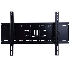 Black Double Arm Swivel TV Bracket