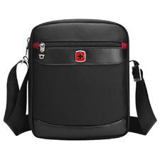 Black Swissgear Messenger Bag