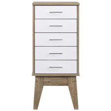 Oak Scandi Wooden Chest of Drawers