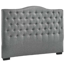 Grey Myriad Tufted Headboard
