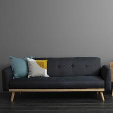 Nikko 3 Seater Upholstered Sofa Bed