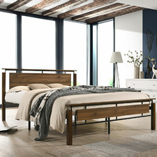 Medium Timber Clooney Bed Frame