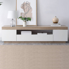 Tia White TV Unit