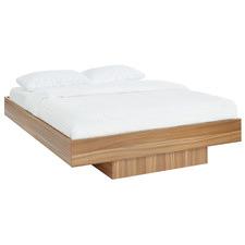 Walnut Nook Floating Bed Base