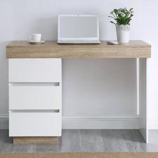 Tia White Office Desk