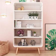 White Dorian 5 Tier Display Shelf