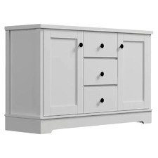 White Merlin Sideboard