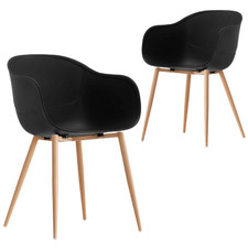 Willis Beetle Dining Chairs (Set of 2)