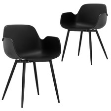 Black Blake Dining Chairs (Set of 2)