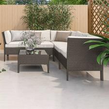 5 Seater Eathan Outdoor Corner Lounge Set