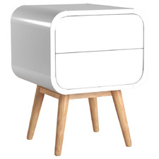 Dorian 2 Drawer Night Stand