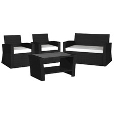 4 Seater Eathan Outdoor Sofa & Coffee Table Set