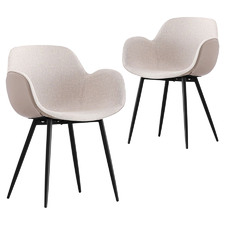 Lourd Upholstered Dining Chairs (Set of 2)