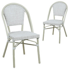 Diana Outdoor Dining Chairs (Set of 2)