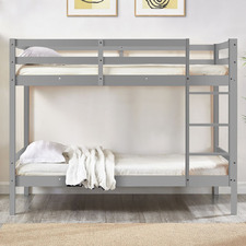 Shannon Single Pine Wood Bunk Bed