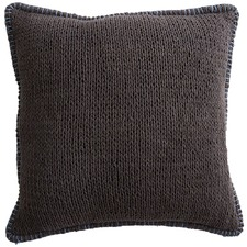 Charcoal Sophia Cotton Cushion