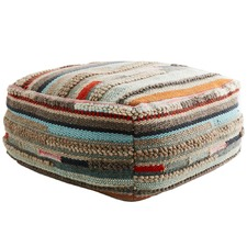 Pasadena Cotton & Wool Ottoman