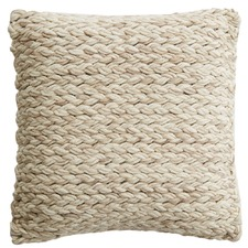 Plaited Pasadena Cotton & Wool Cushion