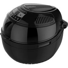 Round Black 10L Digital Air Fryer