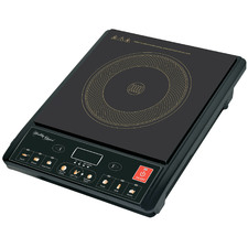 Black Digital Induction Cooker
