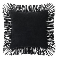 Fringed Caravan Suede Cushion