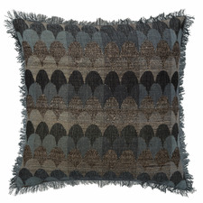 Scallop Empire Silk & Wool Cushion