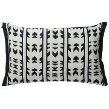 Geometric Negombo Linen Cushion