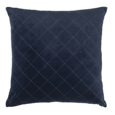 Diamond Cotton Velvet Cushion