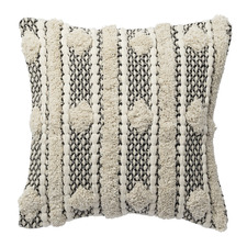 Textured Diamond Burleigh Cotton Cushion