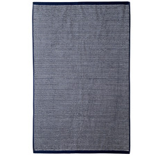 Navy Stripe Apollo 650GSM Cotton Bathroom Towel