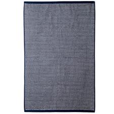 Navy Stripe Apollo 650GSM Cotton Bathroom Towel