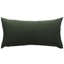 Attic French Linen-Blend Lumbar Cushion