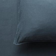Midnight Attic French Linen-Blend Sheet Set