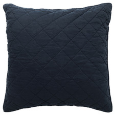 Navy Soho Linen European Pillowcase