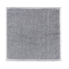 Grey & White Tweed Cotton Bathroom Towel
