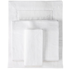 White Cambridge Cotton Tablecloth