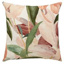 Floral Garden Linen Cushion