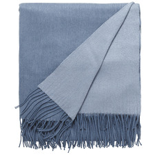 Marine Mix Cashmere & Wool Throw