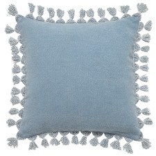 Otis Cotton & Jute Cushion with Tassels
