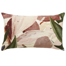 Floral Zen Linen Cushion