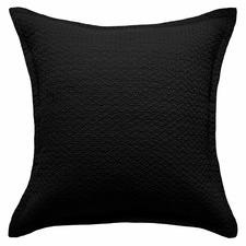 Black Aspen Cotton European Pillowcase