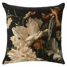 White Nocturne Cotton Cushion