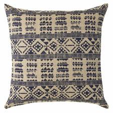 Blue Odessa Linen Cushion